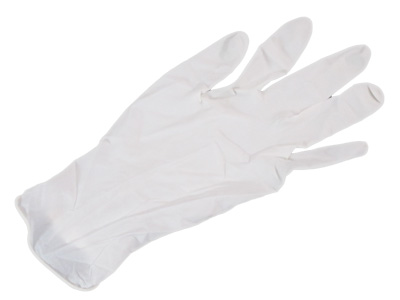 Large Latex Gloves Low Powder Qty 1000