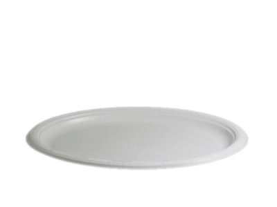 Regular Oval Plastic Plates Qty 500 (50*10)