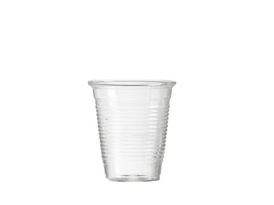 Clear Plastic cups 200ml Qty 1000 (20*50)