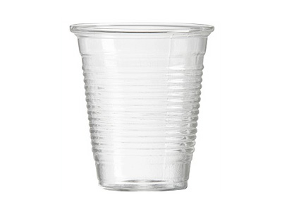 Plastic cup 425ml Qty 1000