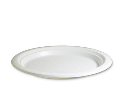7 inch Round Plastic Plates Qty 500 (50*10)