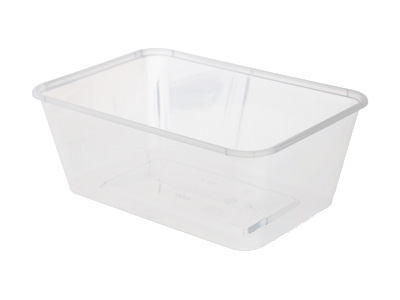 Plastic Rectangular Containers 1000ml Qty 500