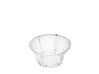Plastic Container E200 60ml with Lids Qty 2500